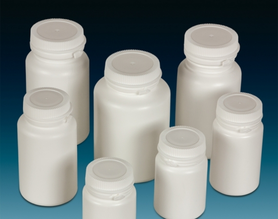 Pill Jars Snap On Tamper Evident HDPE-BAZA-chemipack